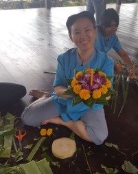 Preparations for Loy Krathong Festival