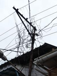 Warum fällt der Strom nochmal immer wieder aus...?