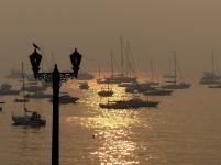 Sun-rise at Colaba Bai