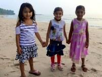 Princesses at the beach