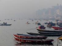 Morning layer of haze
