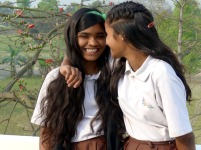 Best friends - Guddi and Pooja